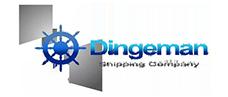 Dingeman Shipping Company Logo